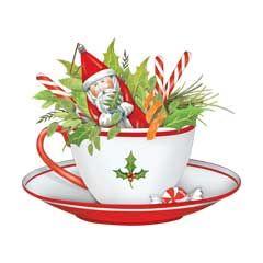 Santa Teacup.