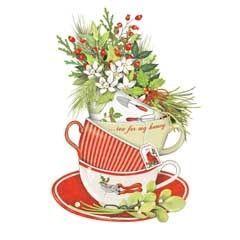 christmas tea clipart.