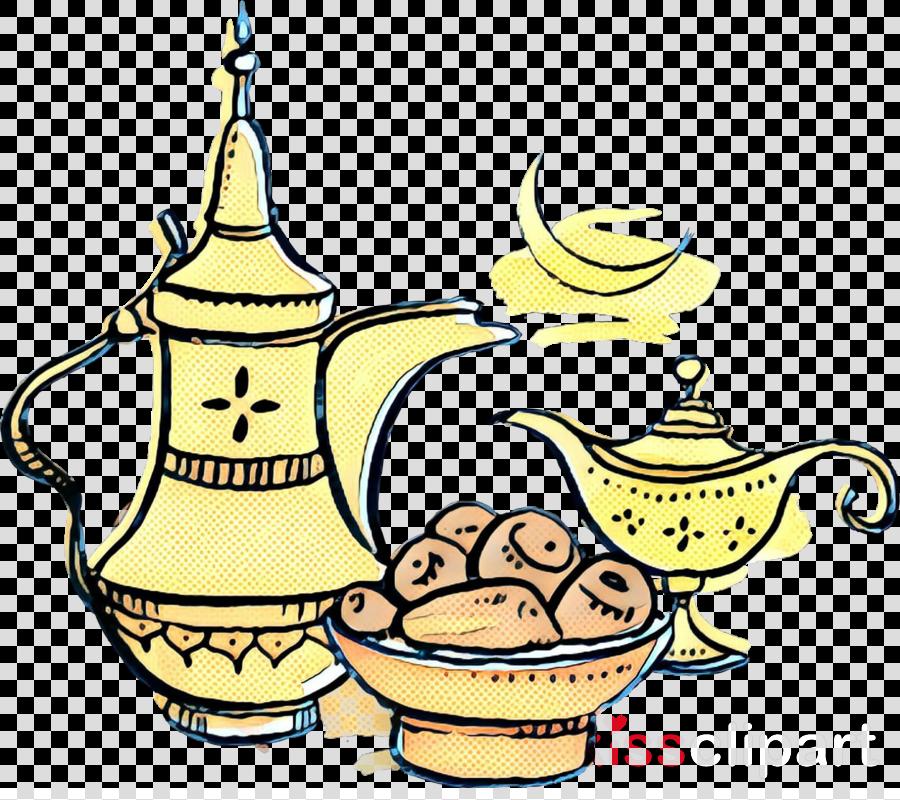 Santa Claus, Coffee Cup, Teapot, transparent png image & clipart.