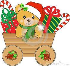 Cute Teddy Bear Clip Art.