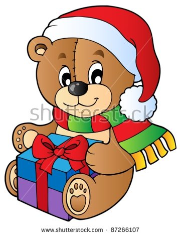 Showing post & media for Christmas teddy bear cartoon.
