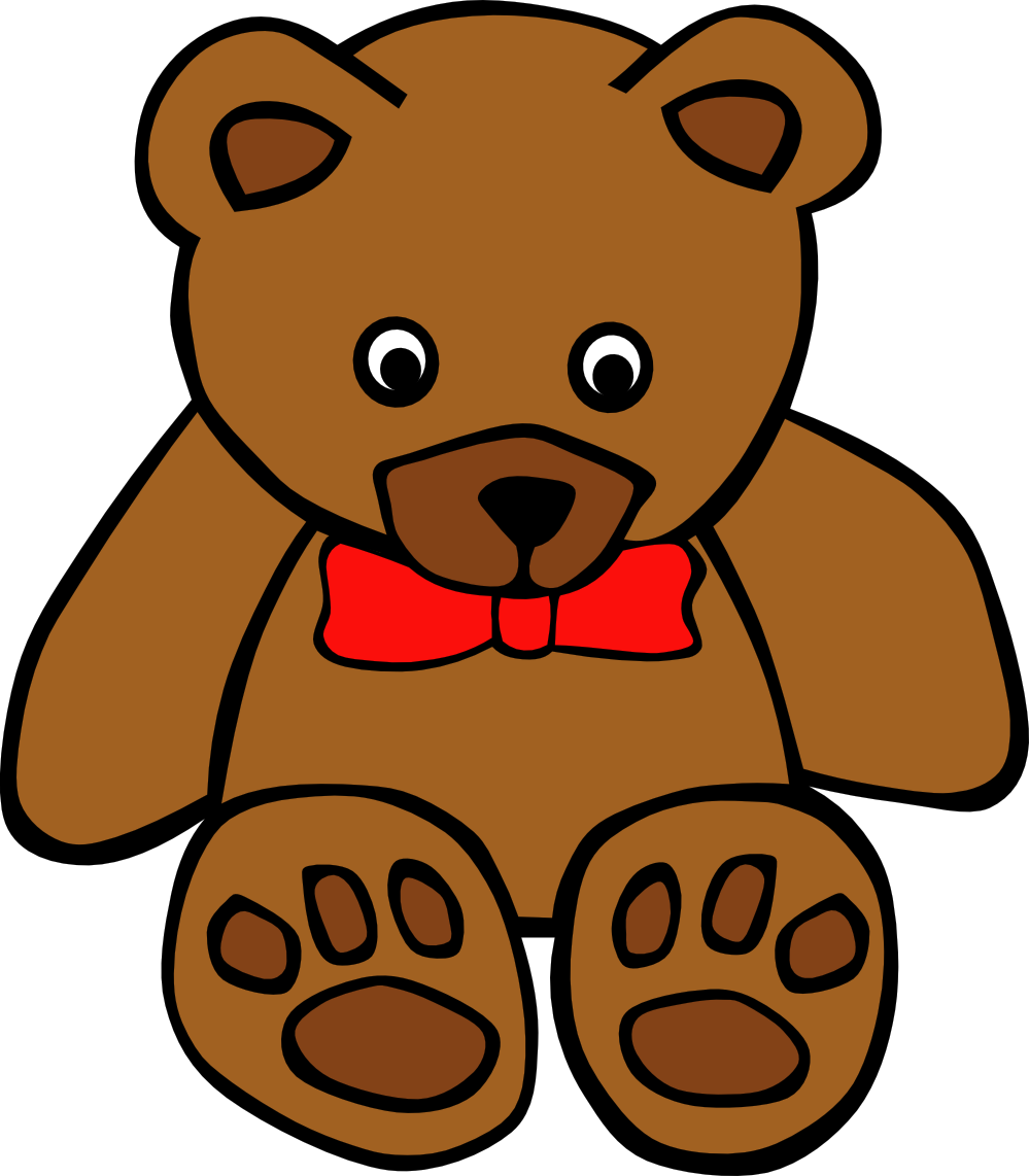 Teddy Bear Christmas Clipart.