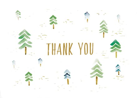 Thank You Card Templates (Free).