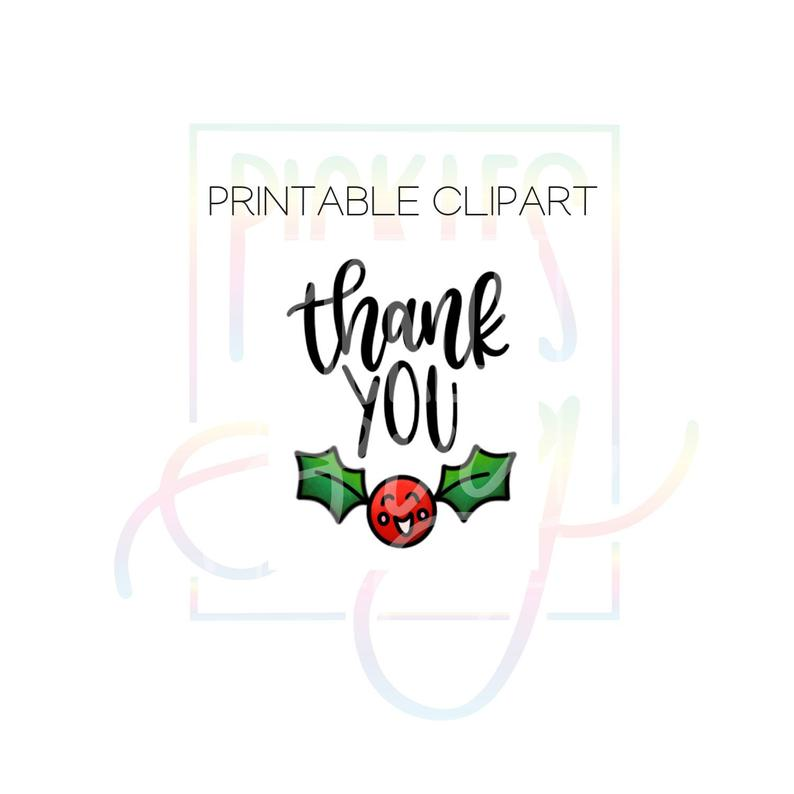 Christmas Thank You Clipart.