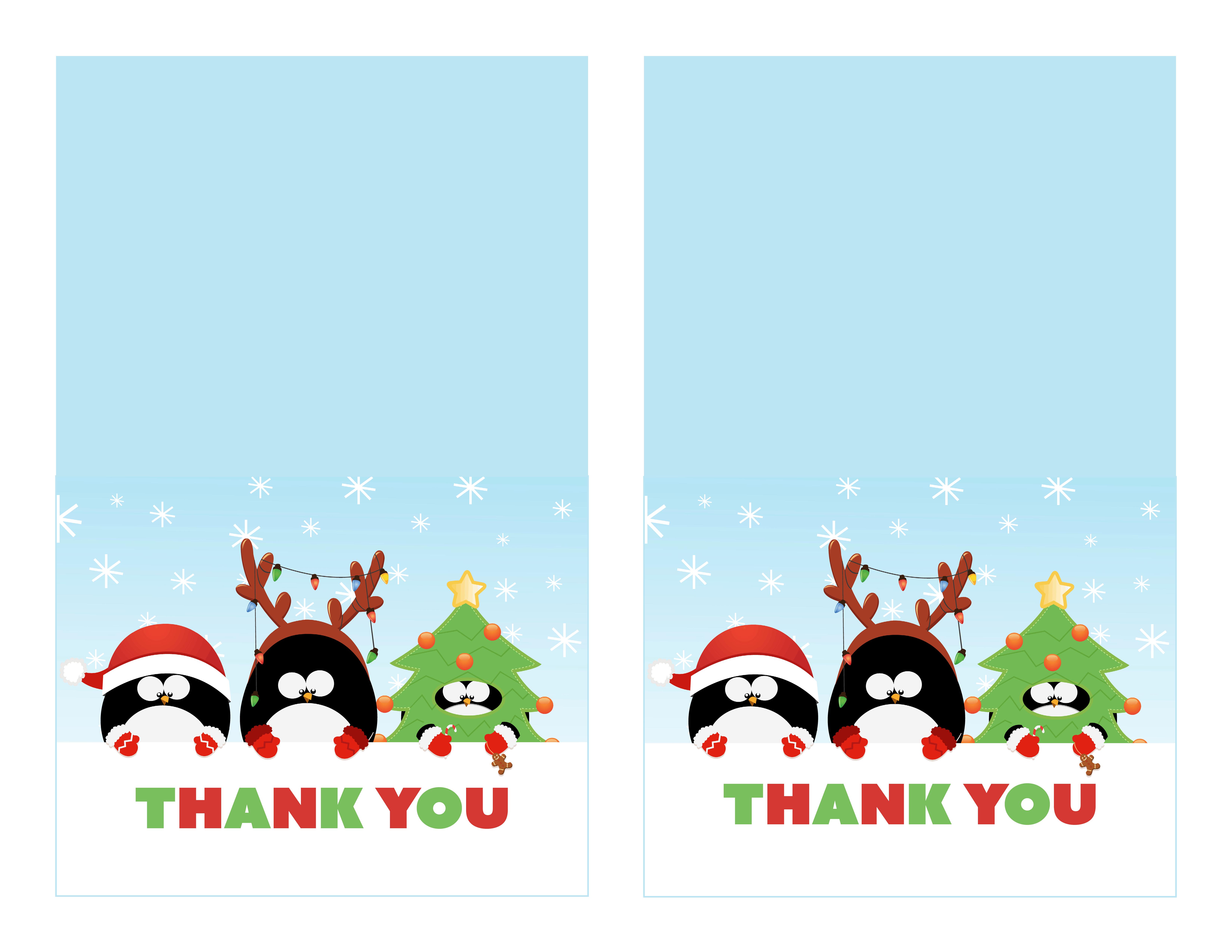 christmas thank you image.