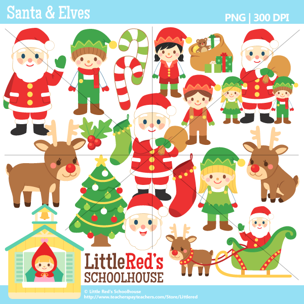 Free clipart of christmas themes.