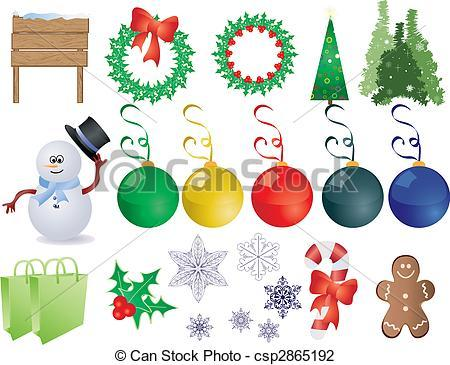 Christmas things clipart 4 » Clipart Portal.