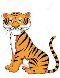 Image result for tiger clipart.