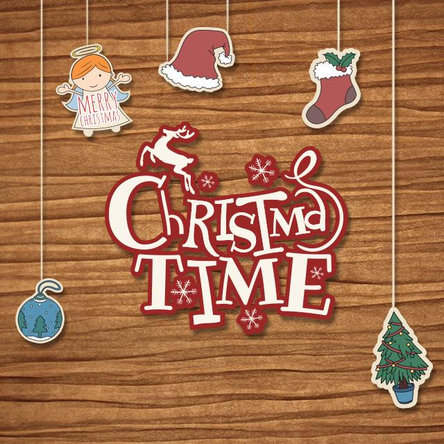 Christmas Time Clip Art.