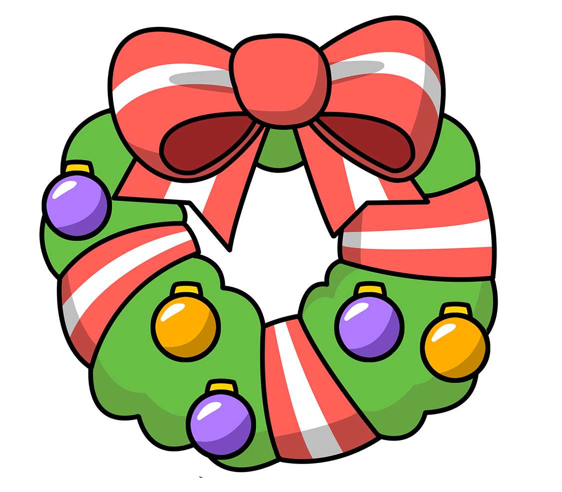 free christmas heart clipart - Clipground