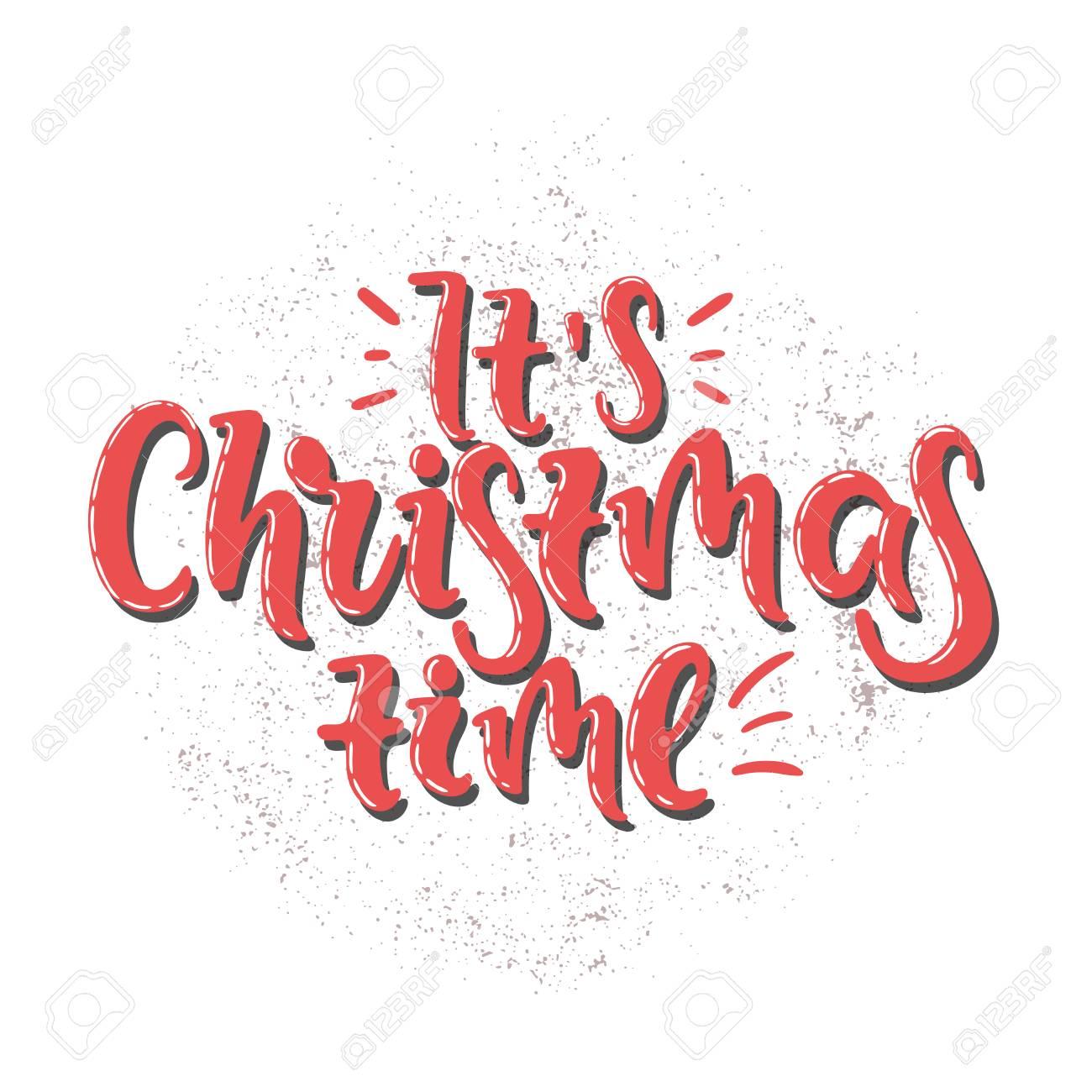 Vector hand drawn illustration. Merry christmas, xmas, holiday,...