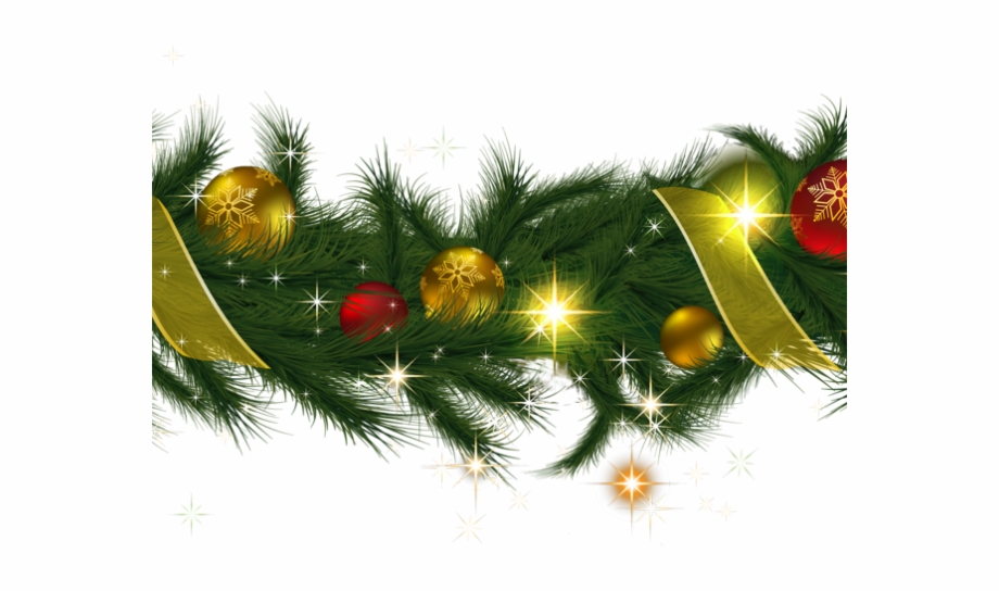 Christmas Lights Clipart Tinsel.