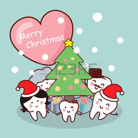 Christmas dentist clipart.