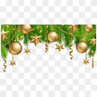 Christmas Top Border PNG Images, Free Transparent Image Download.