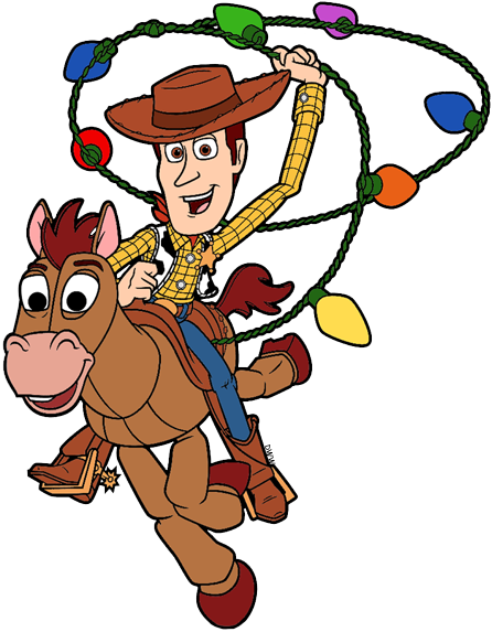 Toy Story Christmas Clip Art.