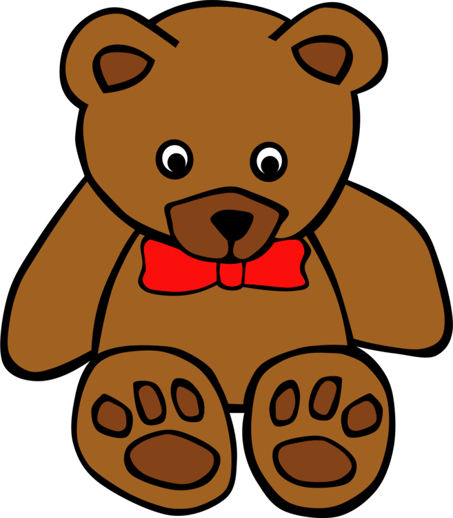 Carnivoran,Artwork,Teddy Bear Vector Clipart.