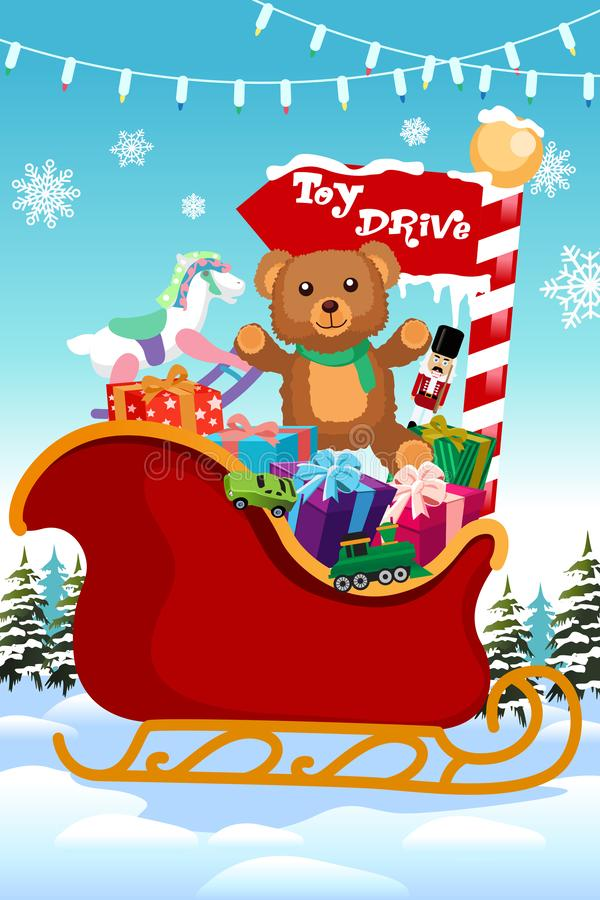 Toy Drive Stock Illustrations.