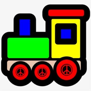 Transparent Train Christmas.