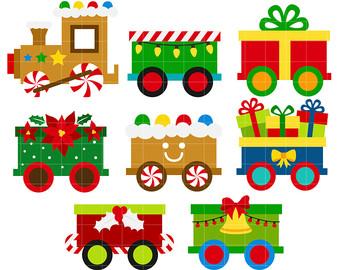 Free Christmas Train Cliparts, Download Free Clip Art, Free Clip Art.