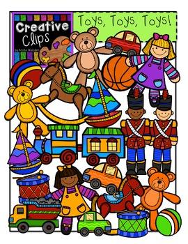 Toys Clipart {Creative Clips Clipart}.