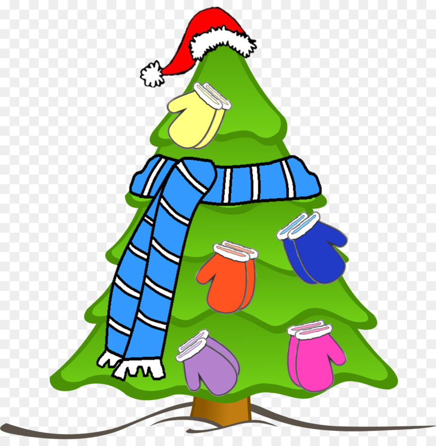 Grinch Christmas Tree Cartoon clipart.