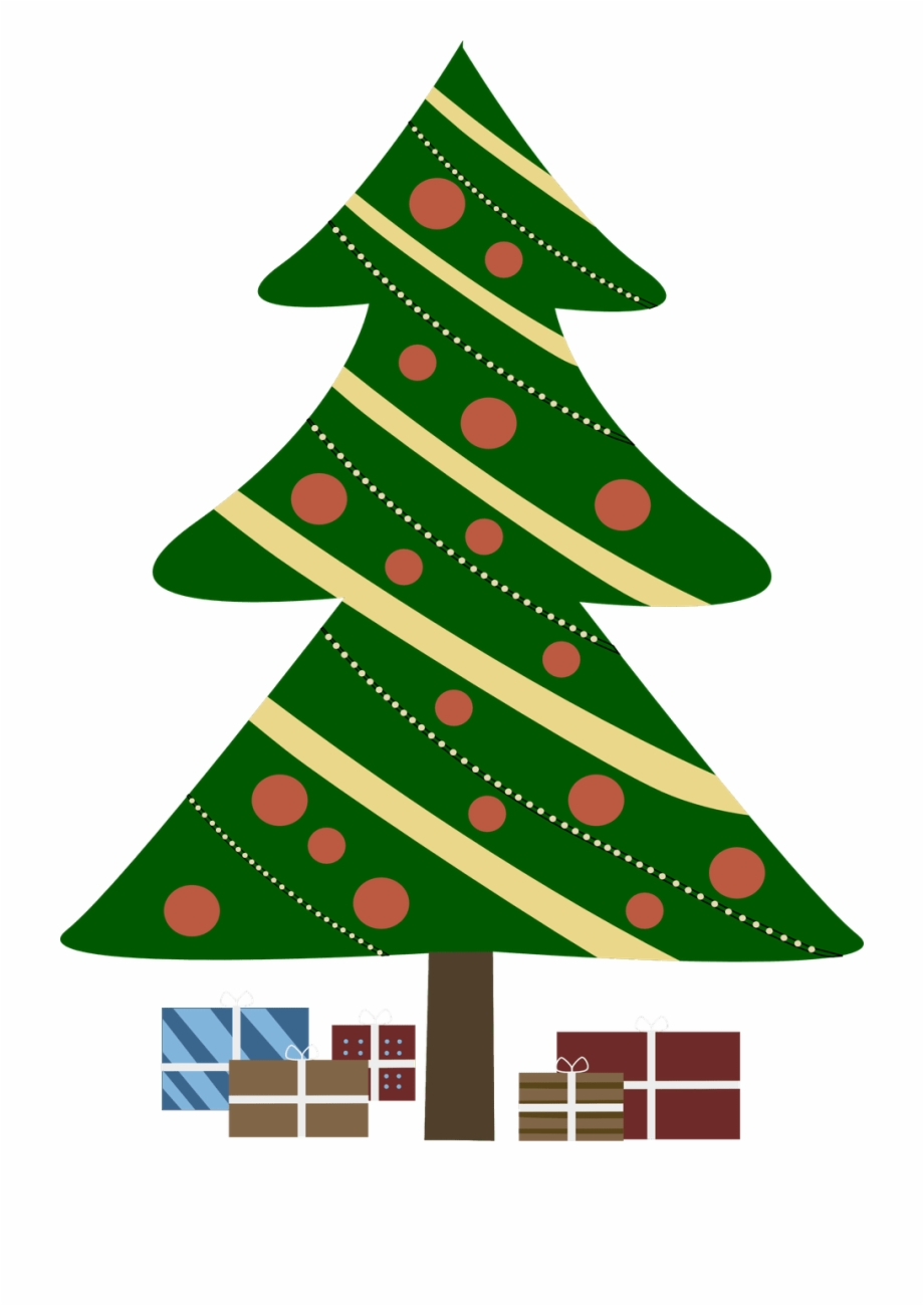 297 Free Christmas Tree Clip Art Images For Green Christmas.
