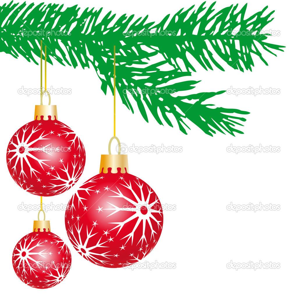 Christmas balls — Stock Vector © ElaKwasniewski #4022538.