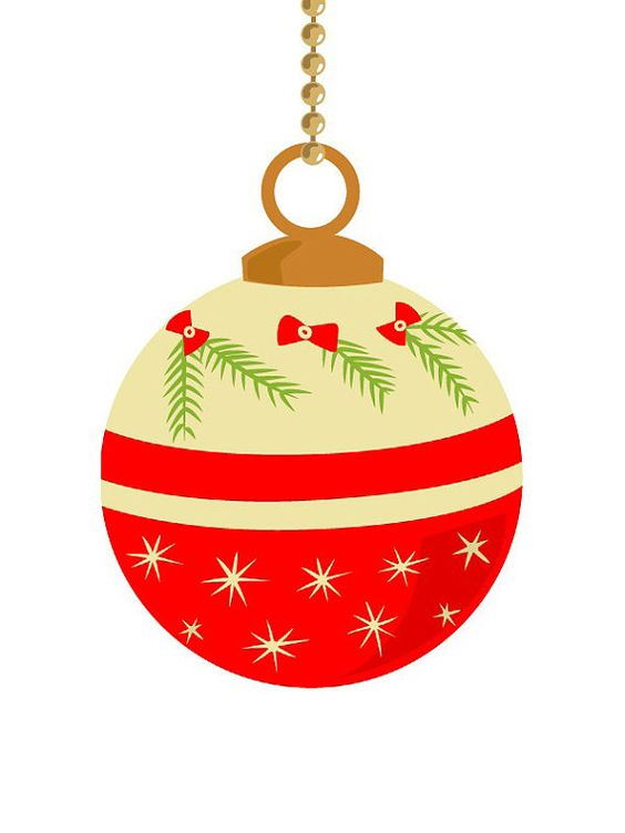Christmas tree ball ornament clipart - Clipground