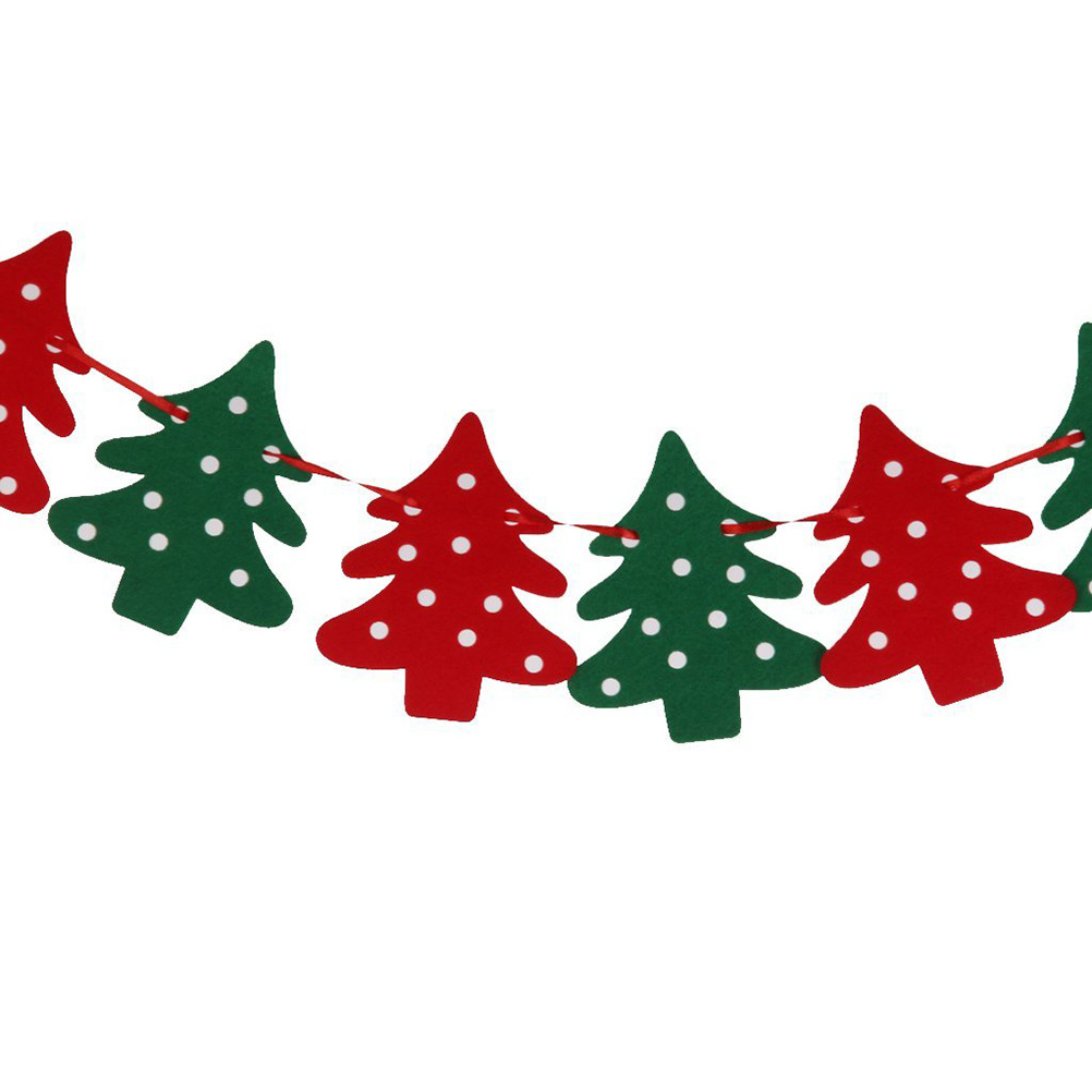 Christmas Tree Banner Clipart.