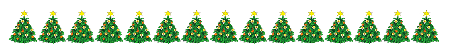 Christmas Tree Border.