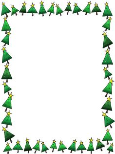 Microsoft Word Christmas Borders.