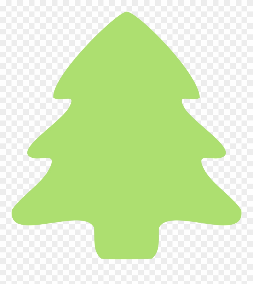 Christmas Tree Border Green Clipart (#647).