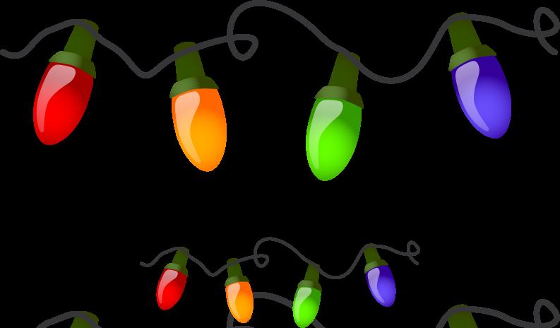 Tree Lighting Clip Art.