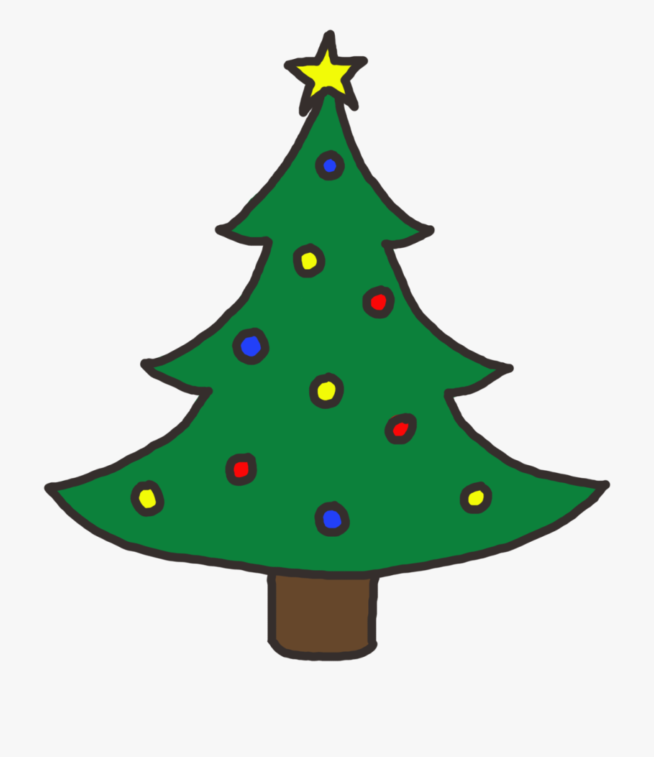 Christmas Tree Clip Art Free.