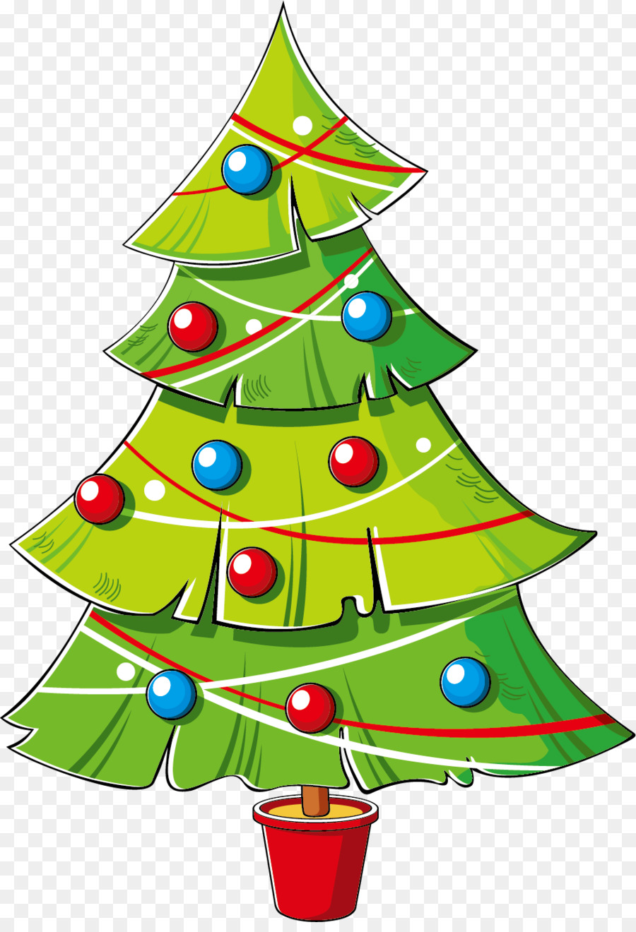 christmas tree cartoon png 20 free Cliparts | Download ...