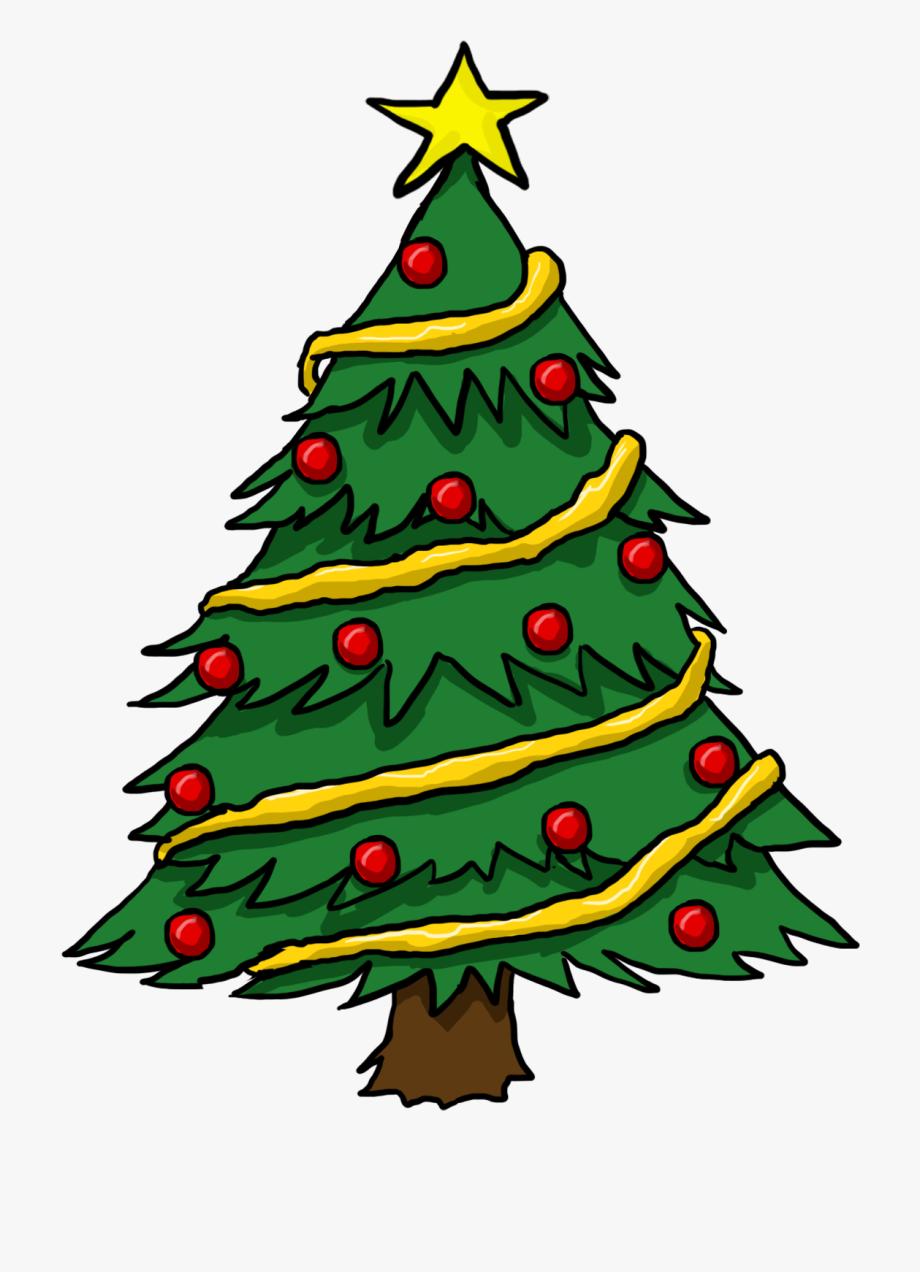 Free Christmas Tree Clip Art Borders.