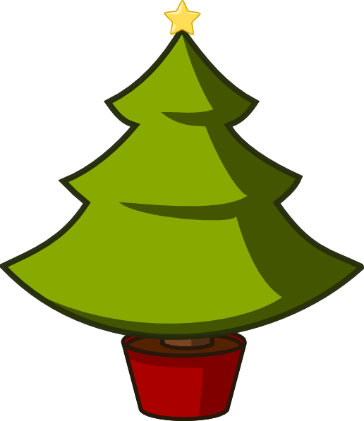 Christmas Tree clip art (103346) Free SVG Download / 4 Vector.