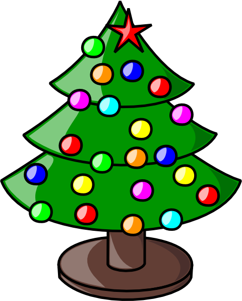 Christmas Tree clip art (107604) Free SVG Download / 4 Vector.