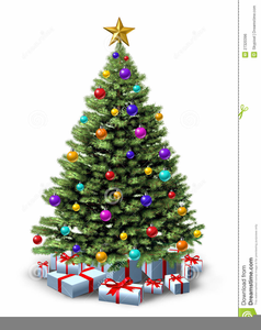 Free Clipart Christmas Tree Presents.