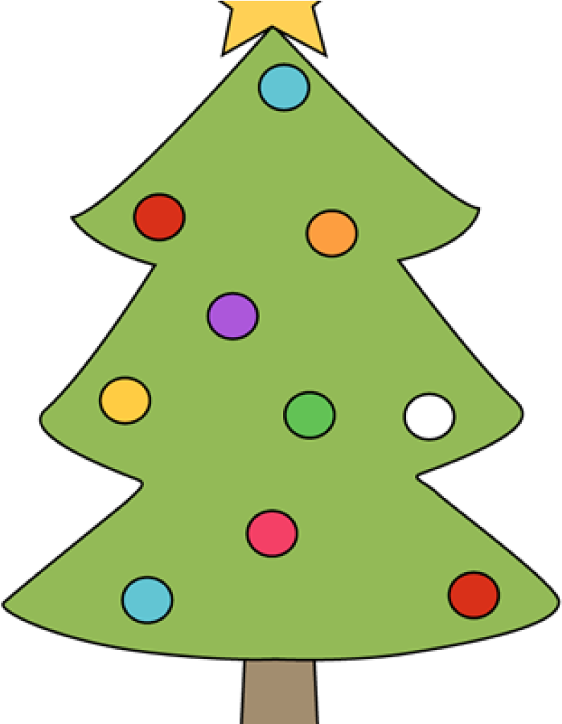 Clipart Download Christmas Tree Outline Clipart.