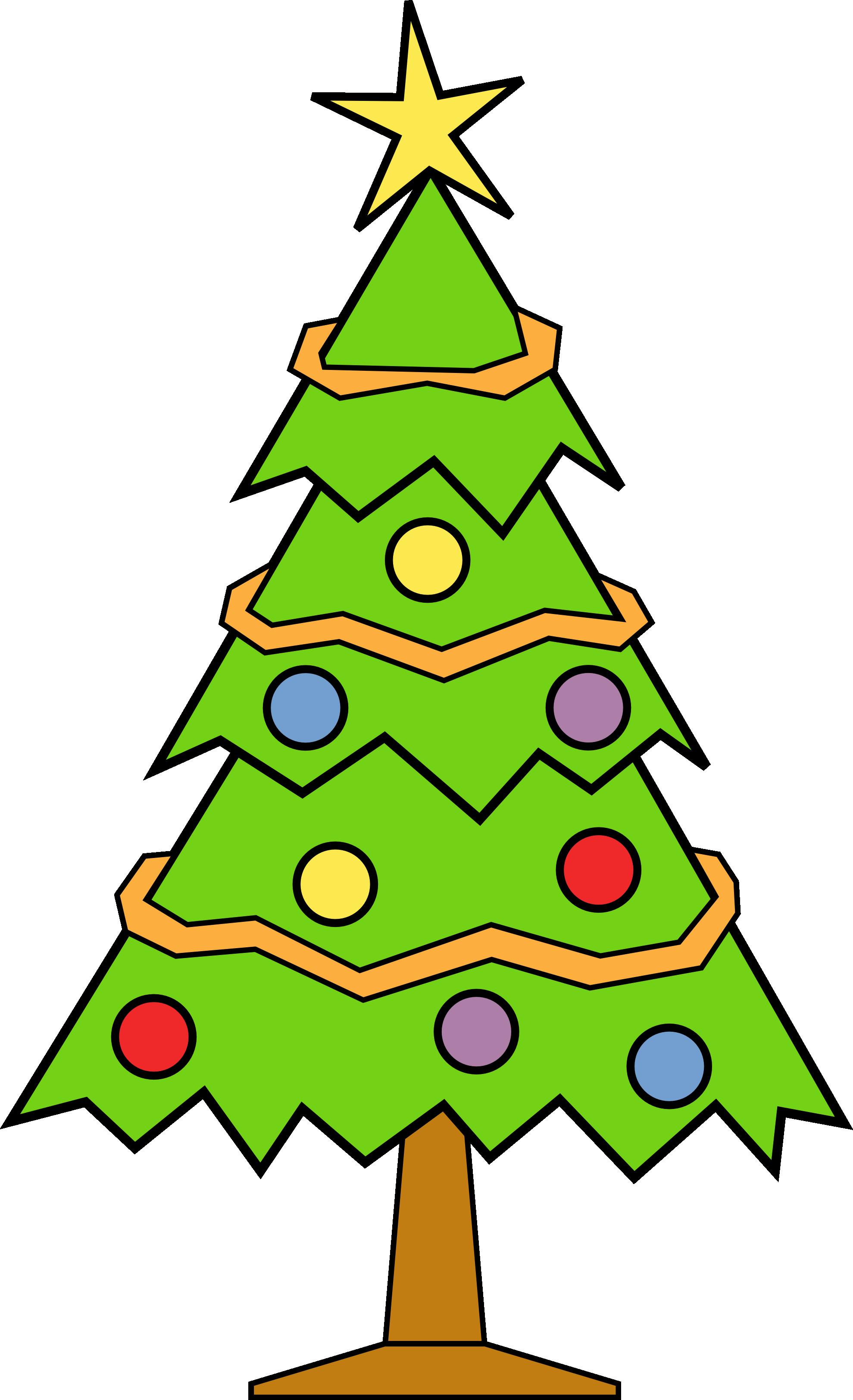 cristmas tree clipart #13