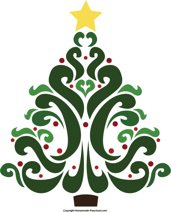 Free Christmas Tree Clipart.