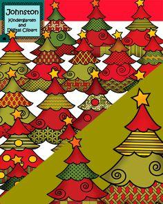 Christmas tree clipart 300 dpi.