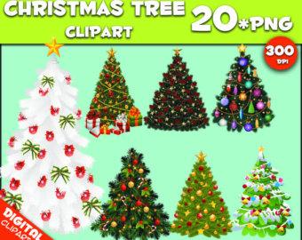 Christmas Tree Clipart 300 Dp.