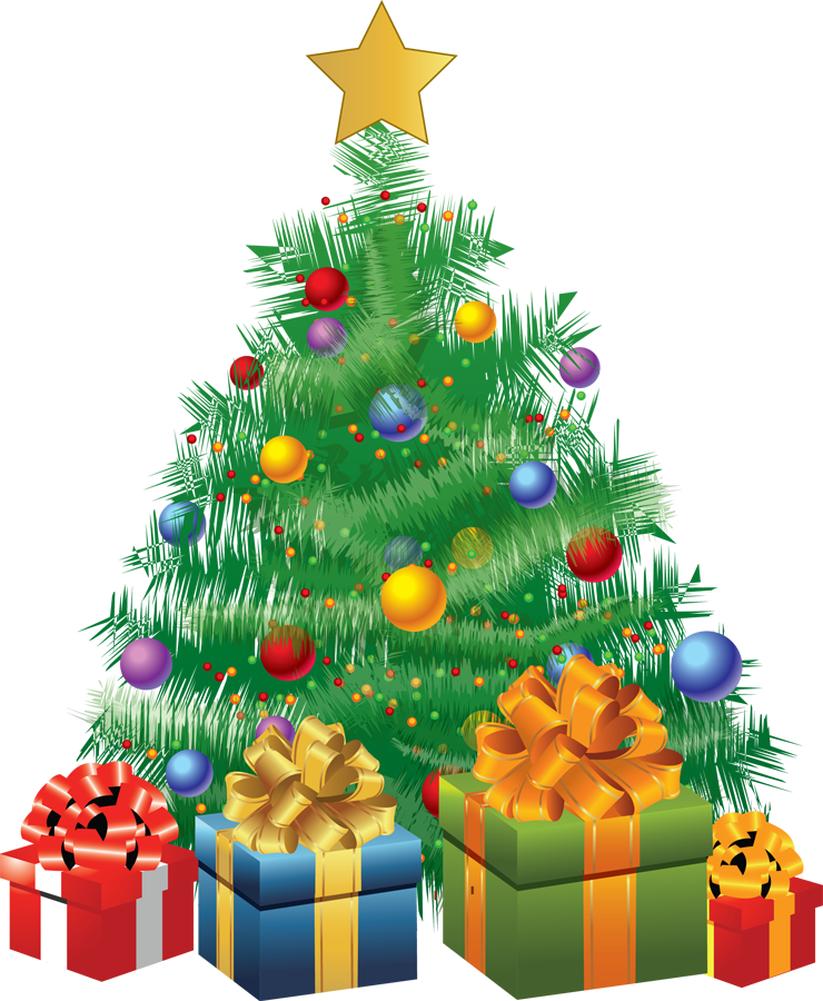 Real Christmas Tree Clipart.