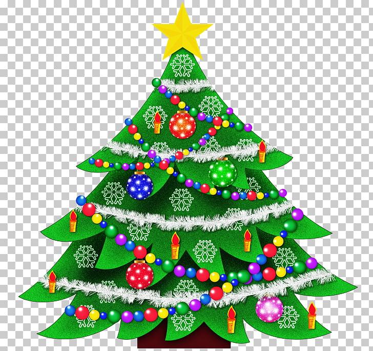 Christmas tree Santa Claus , Christmas Outside File PNG.