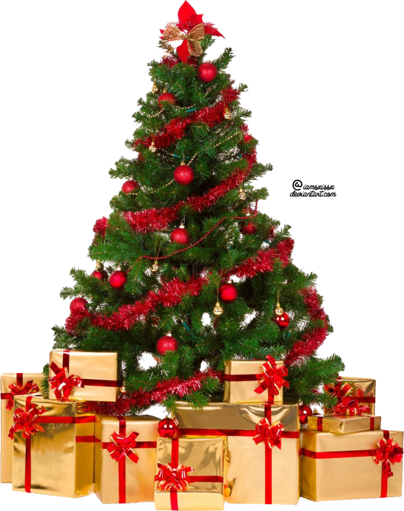 Artificial Christmas tree Christmas decoration.