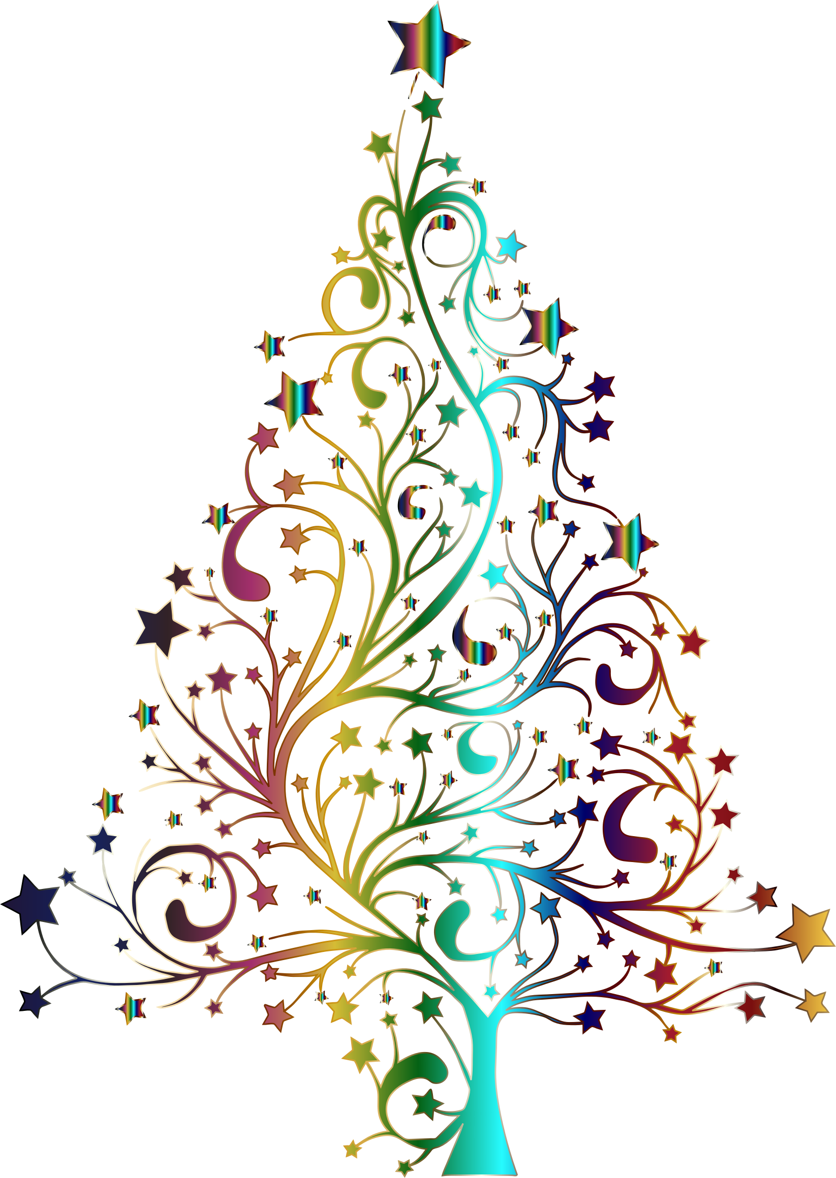 Christmas tree clipart no background 6 » Clipart Station.