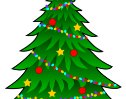 Christmas tree clipart no background » Clipart Portal.
