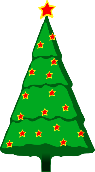 Christmas tree clipart no background 3 » Clipart Station.